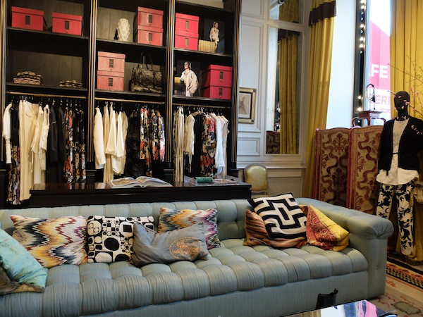Dries van Noten store in Paris