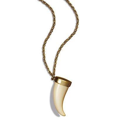 Estee-Lauder-solid-perfume-horn-pendant