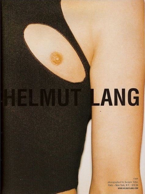 Helmut Lang ad campaign