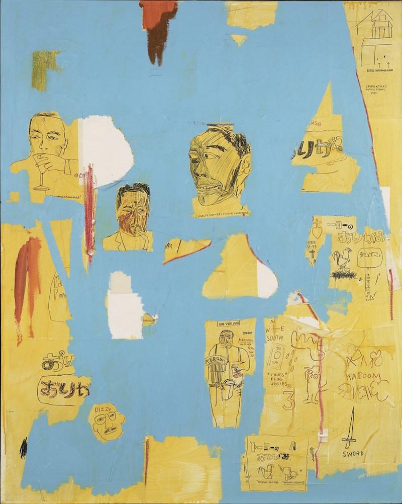 Jean-Michel Basquiat Plastic Sax