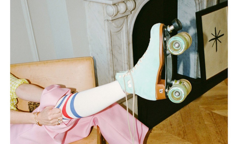 Jenna Lyons Rollerskates