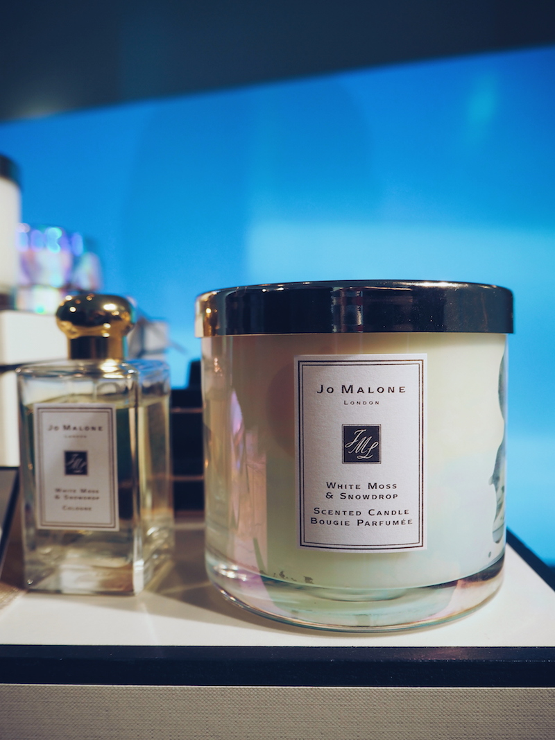 Jo Malone Christmas 2018 white Moss and snowdrop candle