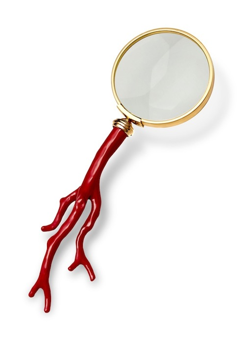 Lobjet-Coral-24K-Gold-Magnifying-Glass