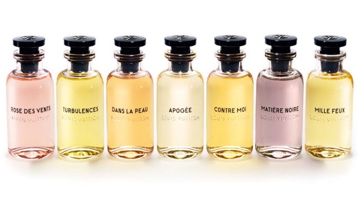 Louis Vuitton fragrance in seven varieties