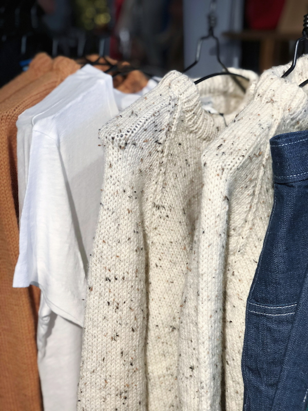 Maiyet Collective pop-up Birdsong knitwear