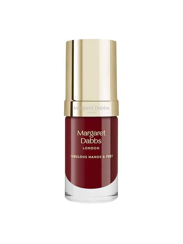 Margaret Dabbs London treatment-enriched nail polish in Poinsettia