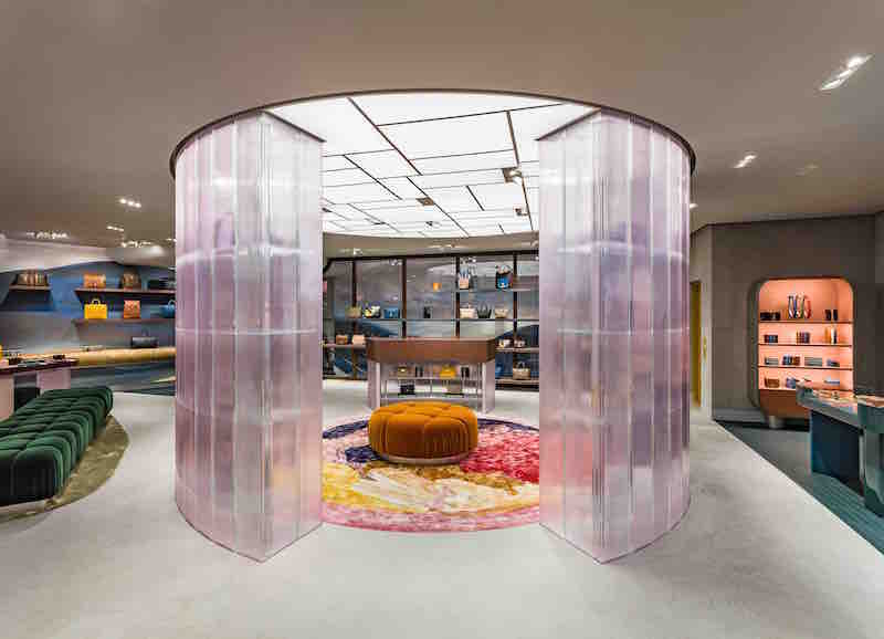 Mulberry Regent Street store photo by Michael Franke
