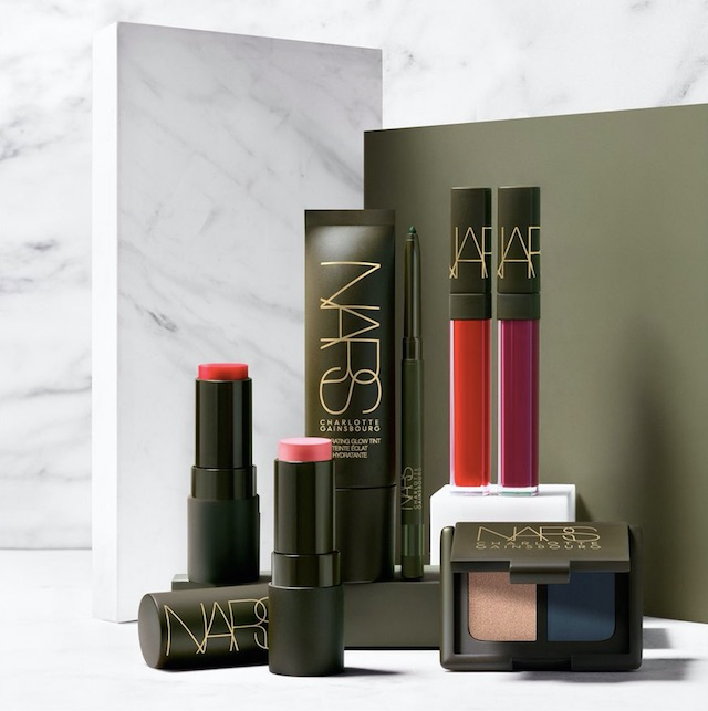NARS X CHARLOTTE GAINSBOURG collaboration