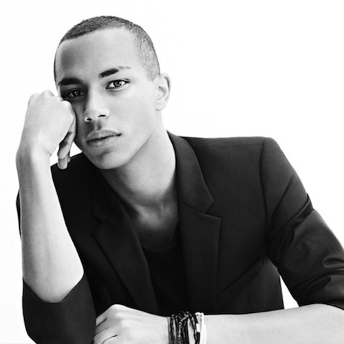 Olivier Rousteing, image courtesy of Balmain
