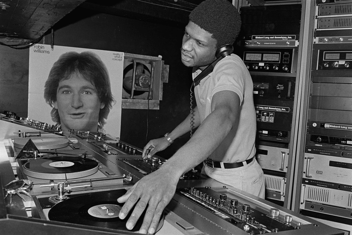 Paradise Garage DJ Larry Levan by bill berstein