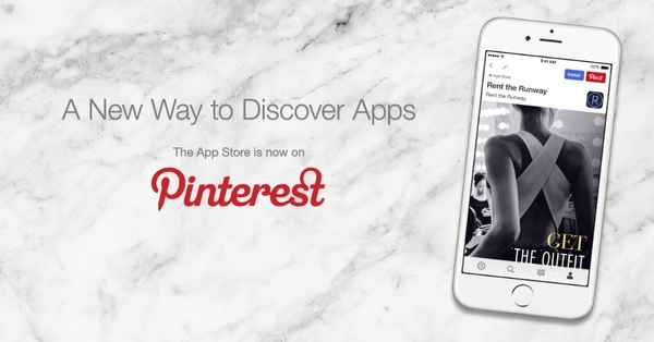 Pinterest and Apple team up to showcase new IOS apps