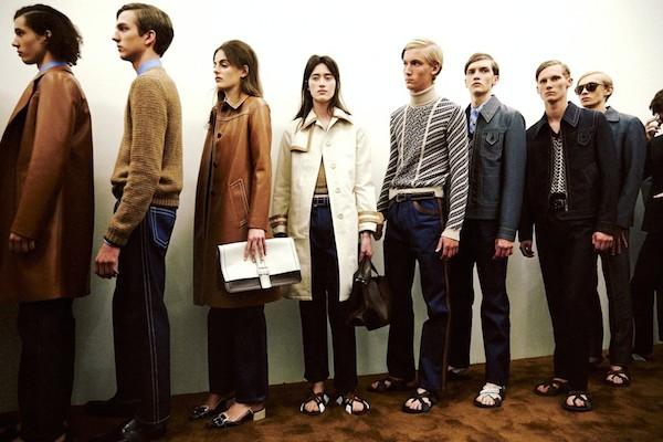 Prada menswear ss15 Prada womenswear resort 2015 Dazed