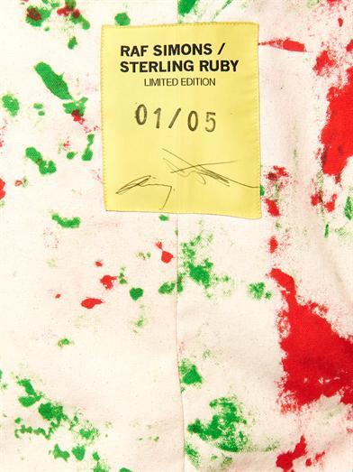 Raf-Simons-Sterling-Ruby-handpainted-coat