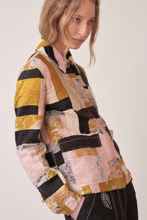 SSone Kantha jacket