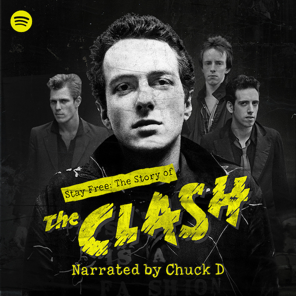 Chuck D narrates The Clash podcast on Spotify
