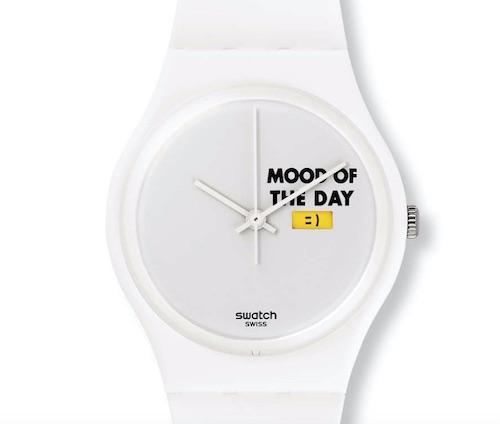 Swatch mood board emoji watch