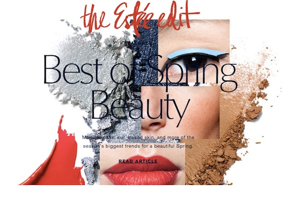 Estee Lauder Uk launches The Estee Edit content hub
