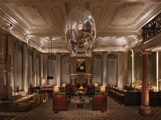 The London EDITION - Lobby 3 - Please credit Nikolas Koenig