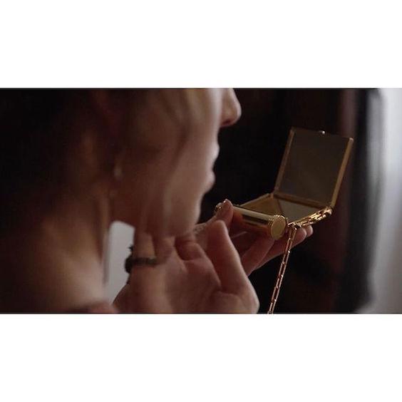 Valentino lipstick holder with mirror