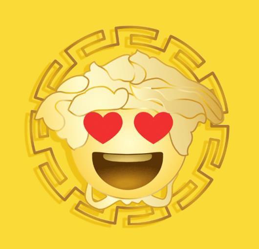 Versace launches emoji app