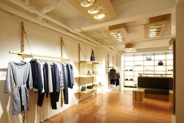 A.P.C store in Lexington street, W1