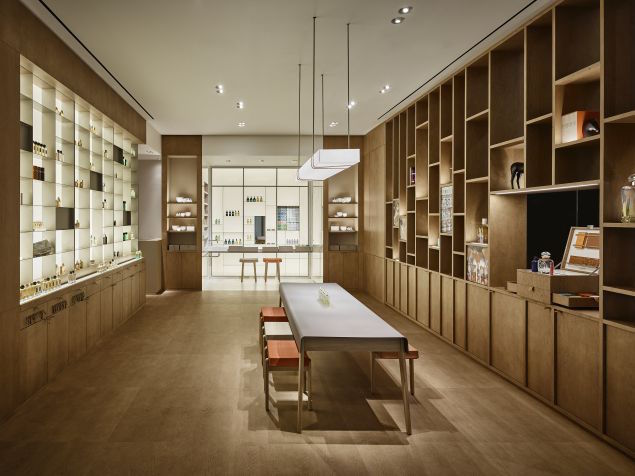 hermes parfumerie New York