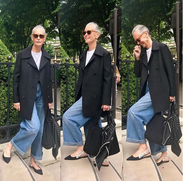 Are expensive jeans worth it? Linda V Wright wearing The Row jeans