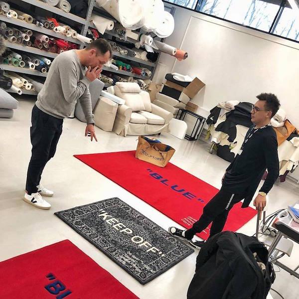 Ikea X Virgil Abloh collaboration