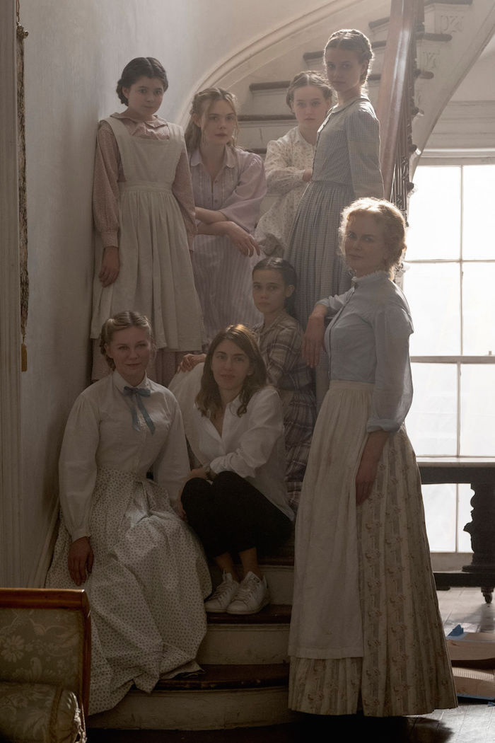 Victorian-style peasant tops and dresses as worn in The Beguiled