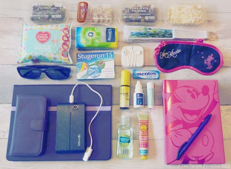 Cabin Bag Contents