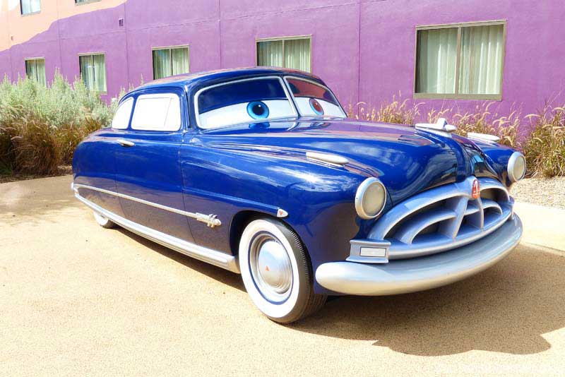 Disney's Art of Animation Resort - Cars Courtyard - Doc Hudson Model