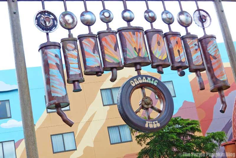 Disney's Art of Animation Resort - Cars Courtyard - Fillmore Model