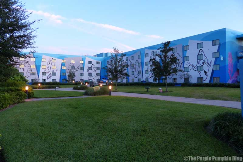 Disney's Art of Animation Resort - Finding Nemo Courtyard
