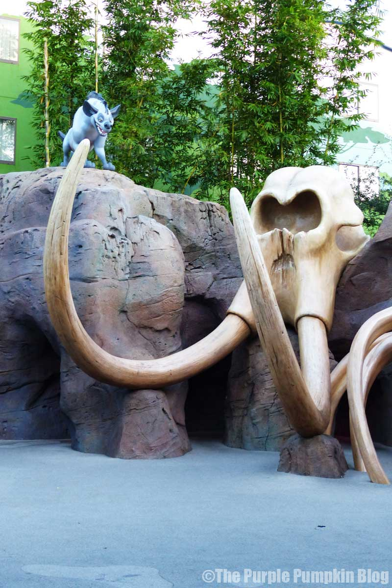 Disney's Art of Animation Resort - The Lion King Courtyard - Elephant Graveyard