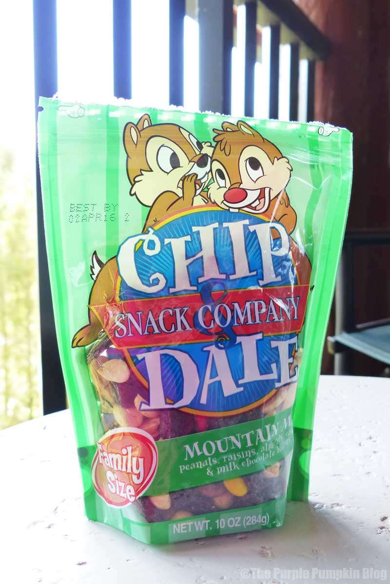 Disney Snacks Chip N Dale Trail Mix Disney Tips Trip Reports