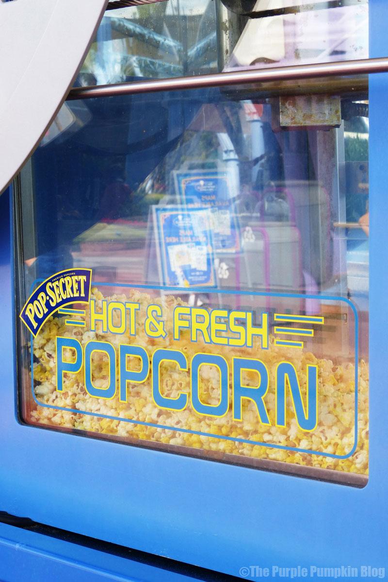 Epcot - Hot & Fresh Popcorn