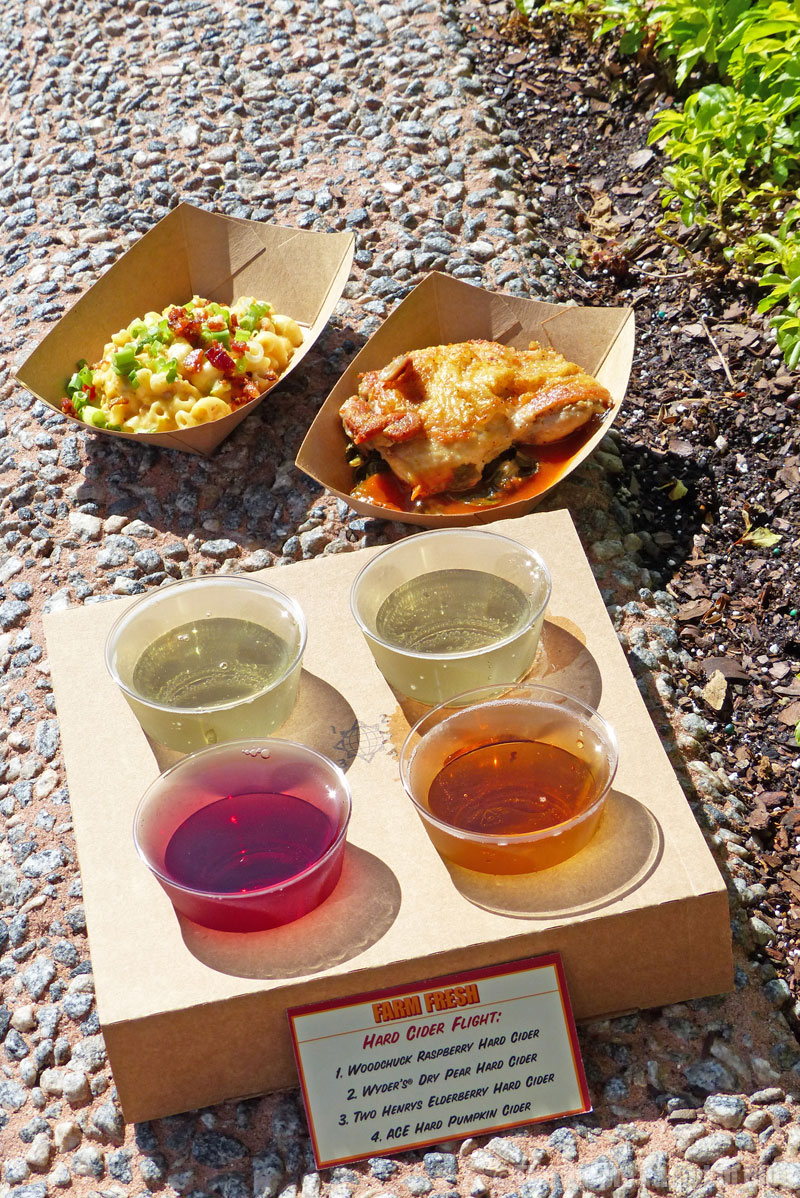 Epcot Food & Wine Festival 2015 - Farm Fresh Booth