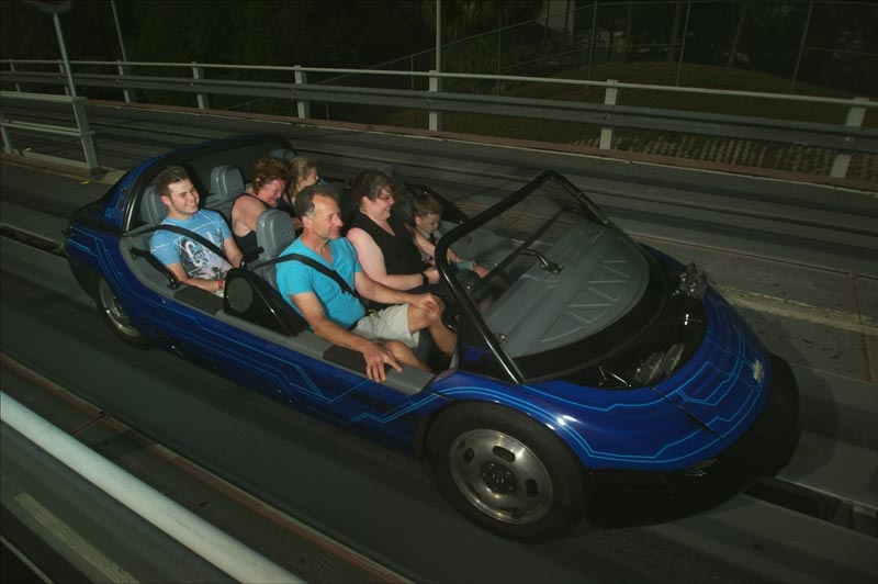 Epcot - Test Track Ride Photo