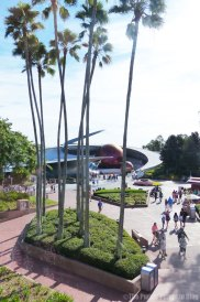 Monorail Ride from Magic Kingdom to Epcot
