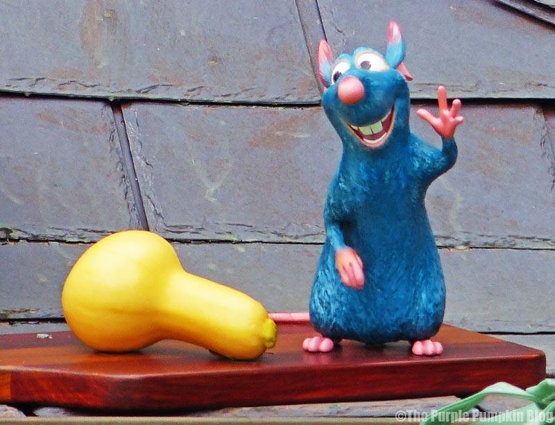 Remy Statue - Ratatouille Hide & Squeak - Epcot Food & Wine Festival 2015