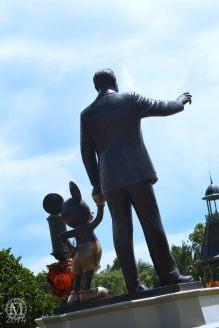 Walt & Mickey Statue - Magic Kingdom