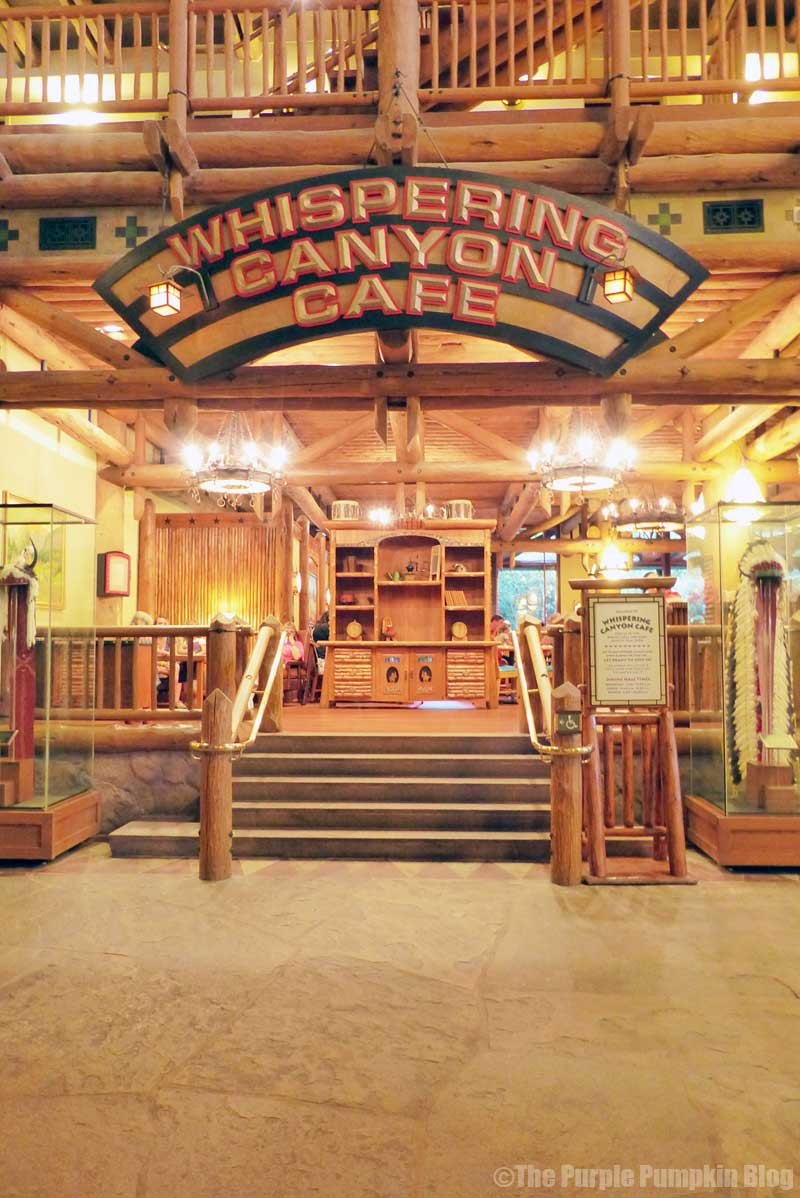 Whispering Canyon Cafe at Disney's Wilderness Lodge