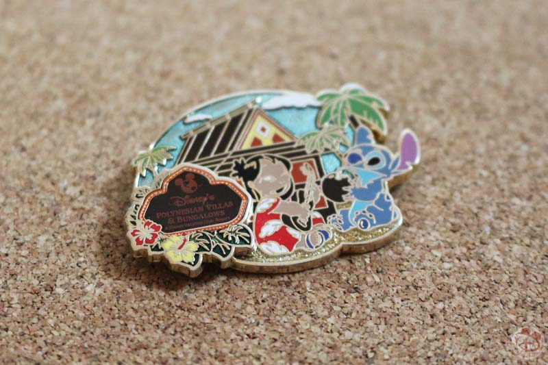 Disney Polynesian Villas & Bungalows Collector Pin