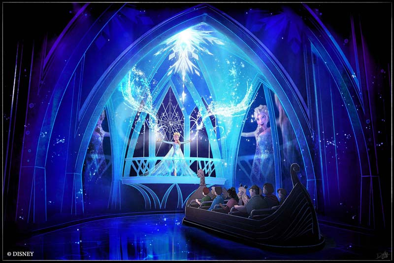 Frozen Ever After - Artist Rendering