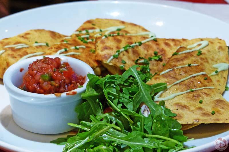 Hickory's Smoked Chicken Quesadilla - Whispering Canyon Cafe