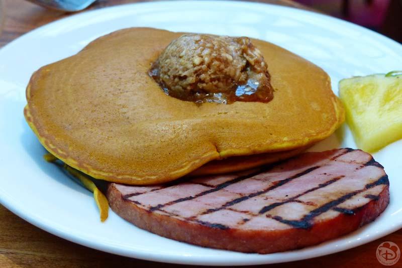 Pumpkin Pancakes - Kona Cafe at Disney's Polynesian Village Resort