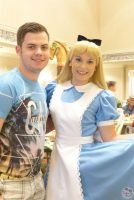 Meeting Alice at 1900s Park Fare at Grand Floridian (15)