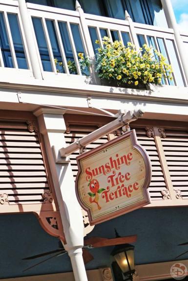 Magic Kingdom - Sunshine Tree Terrace