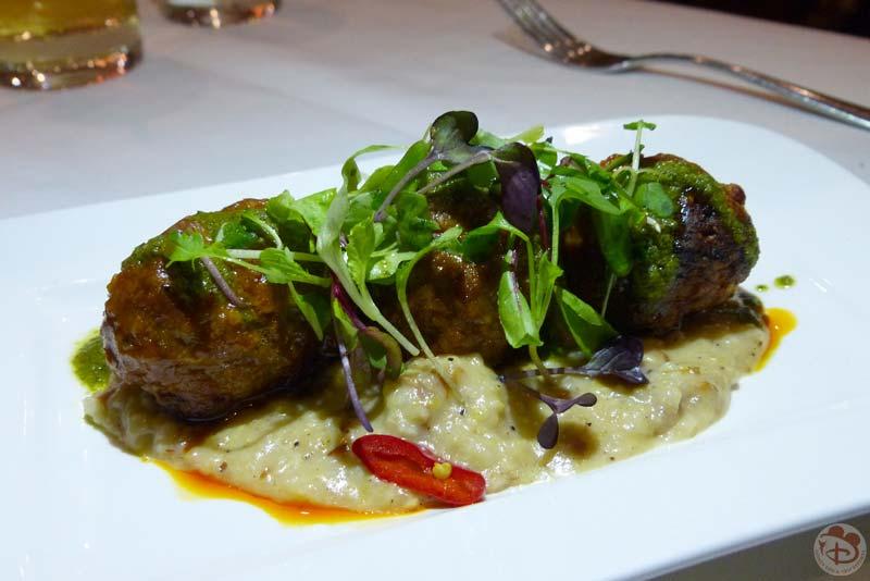 Three-Meat Signature Meatballs - California Grill