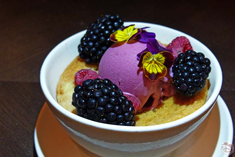 Cobbler | Seasonal Berries | Black Raspberry Ice Cream - Artist Point